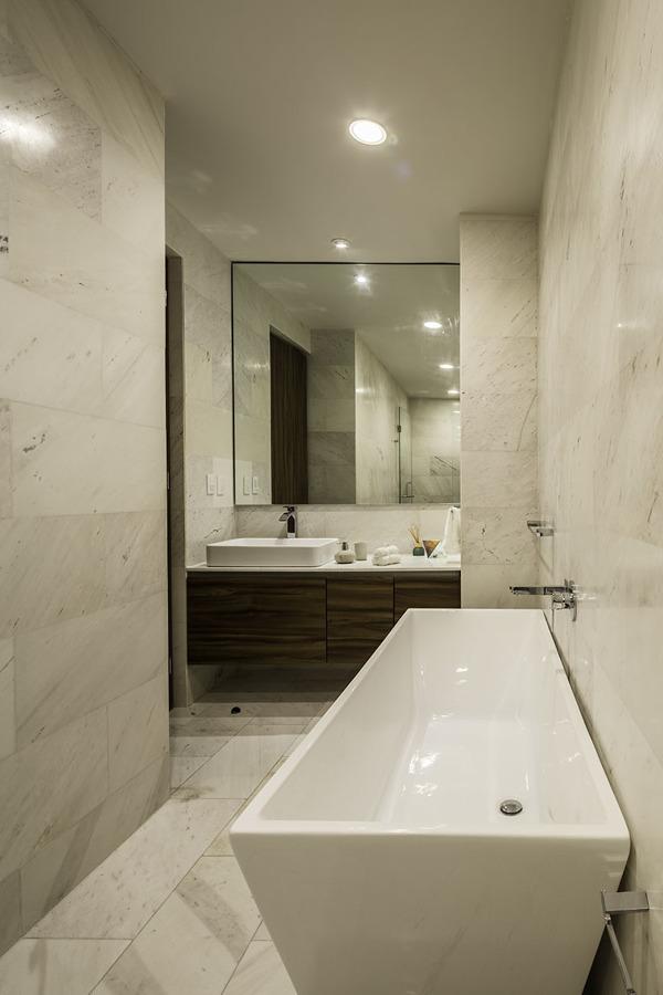 Mueble de baño sobre diseño