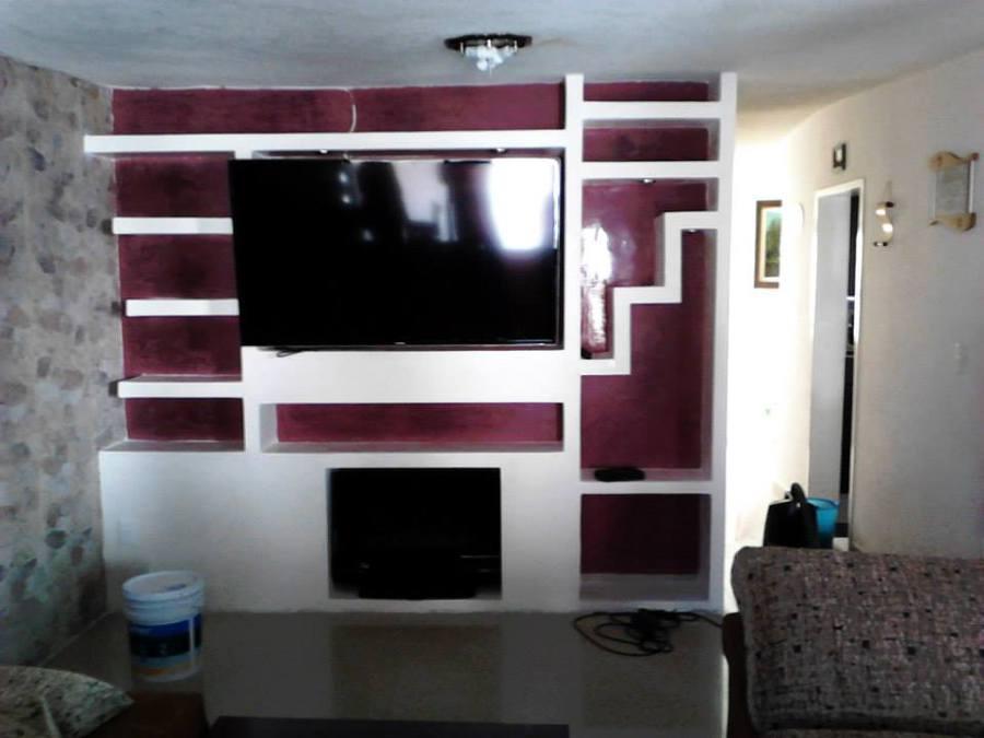 Muebles de entretenimiento de tablaroca 20170715100607 for Muebles para interiores