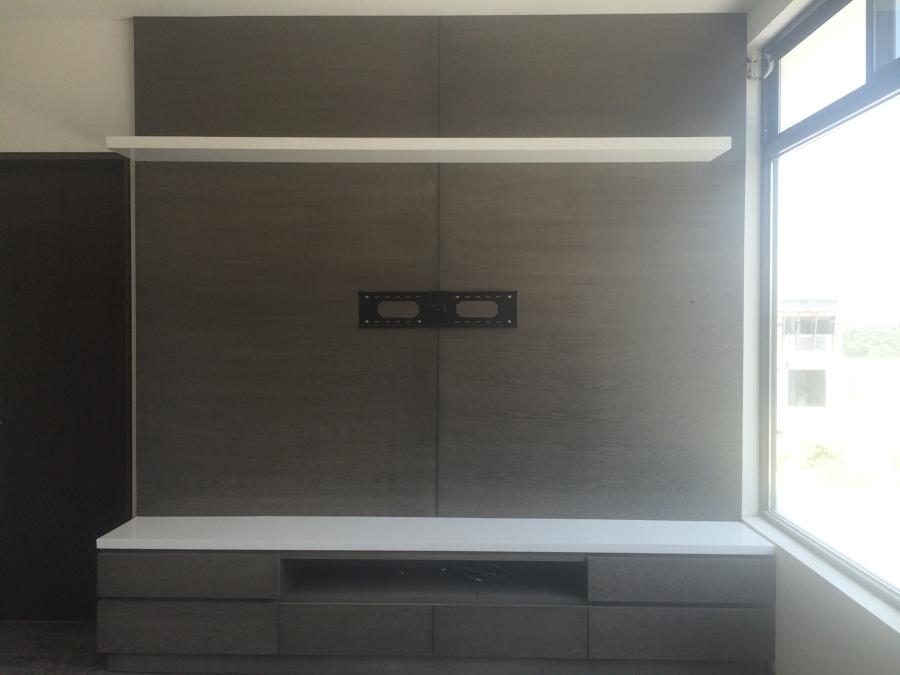 Mueble de televisi n para recamara principal ideas for Diseno de interiores recamara principal