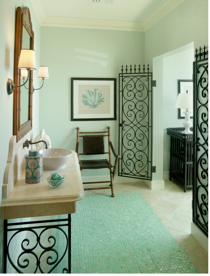 elaboración de muebles de herrería para baños | ideas construcción ... - Muebles De Herreria Para Tv