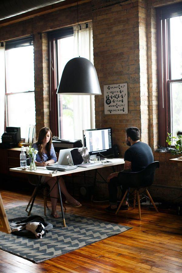 Oficina para dos en casa
