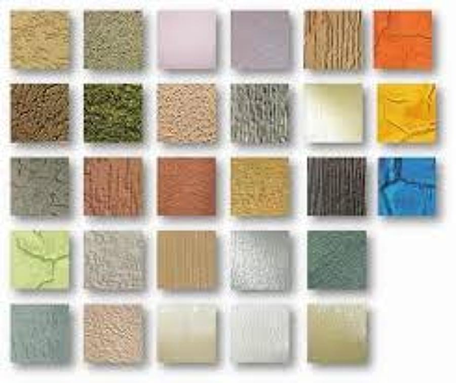 Fabricaci n y aplicaci n de pasta para decoraci n de - Aplicacion colores paredes ...