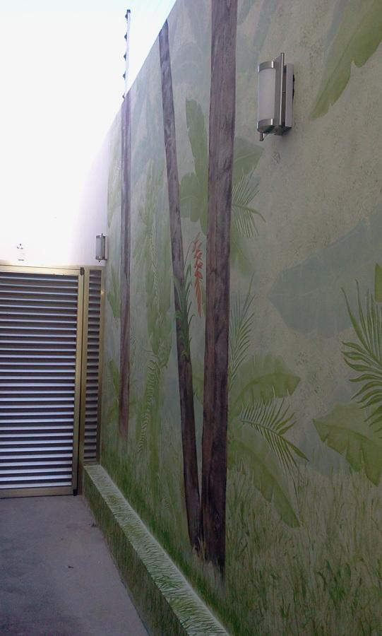 Mural Maya Detalles