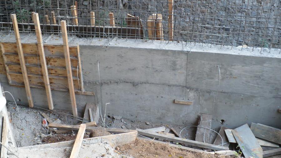 Foto muro de contenci n 6 de g g dise o 64411 for Muro de concreto armado