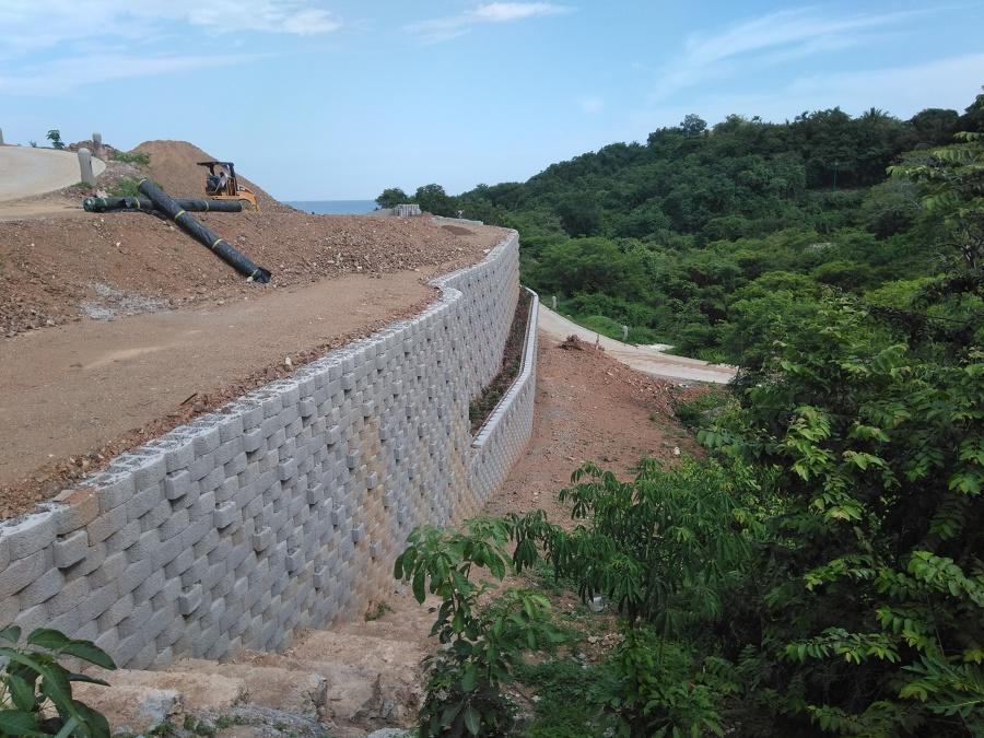 muro de contencion keystone