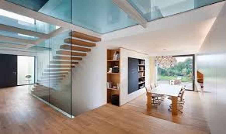 Tipo de barandales ideas vidrieros for Muro cristal