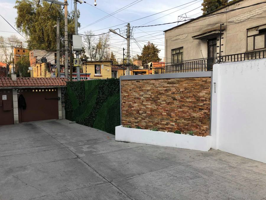 Muro terminado