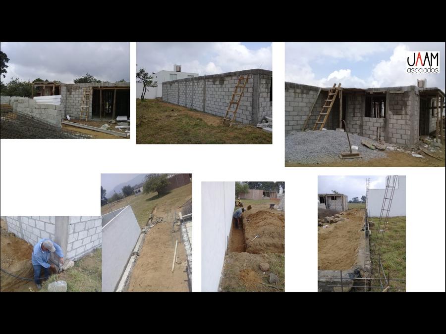 Muros de block y barda perimetral