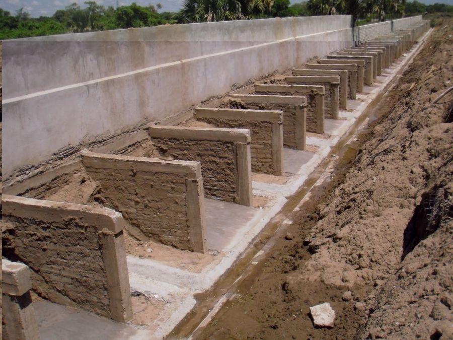 Muros contencion muros de contencin benefician a mil - Muros de contencion de piedra ...
