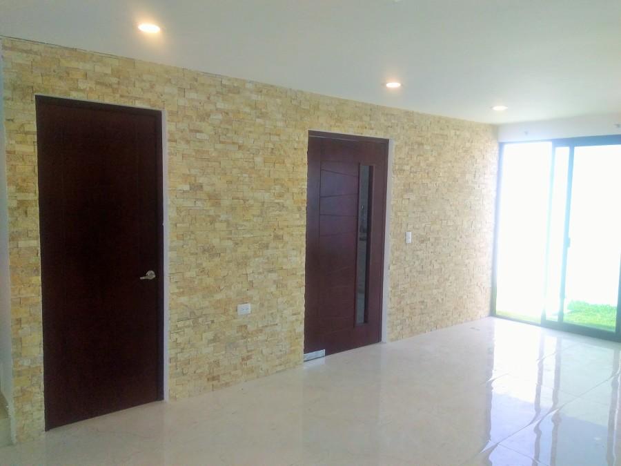 Muros decorativos con piedra natural