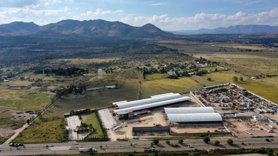 Nave industrial carretera Villa Hidalgo