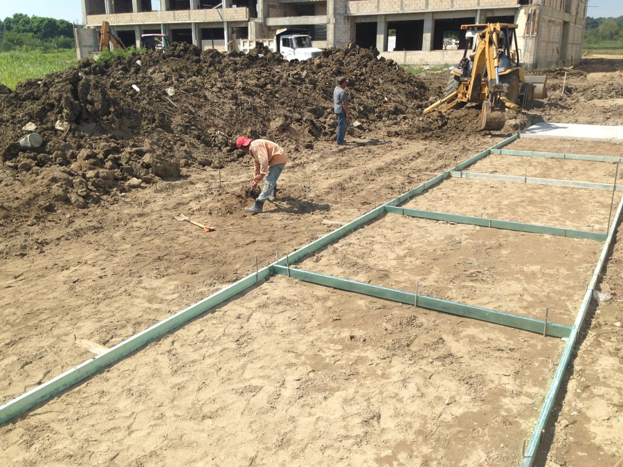Nivelacion Para Piedras de Concreto