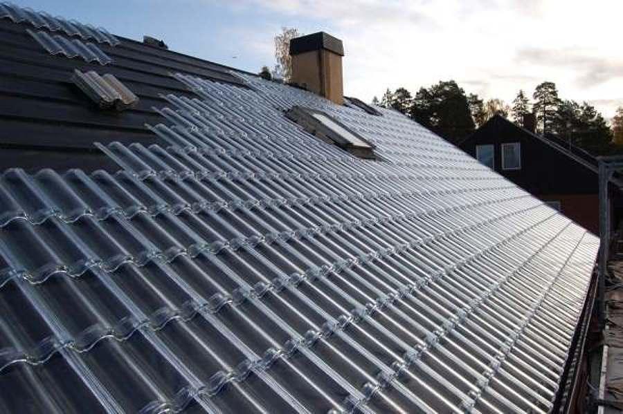 Tejados solares de vidrio