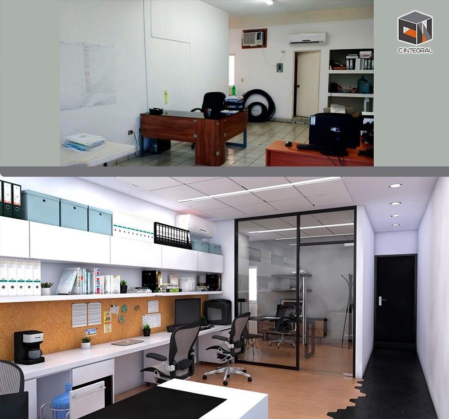 Proyecto de oficina de 25 m2 ideas construcci n casa for Proyecto oficina