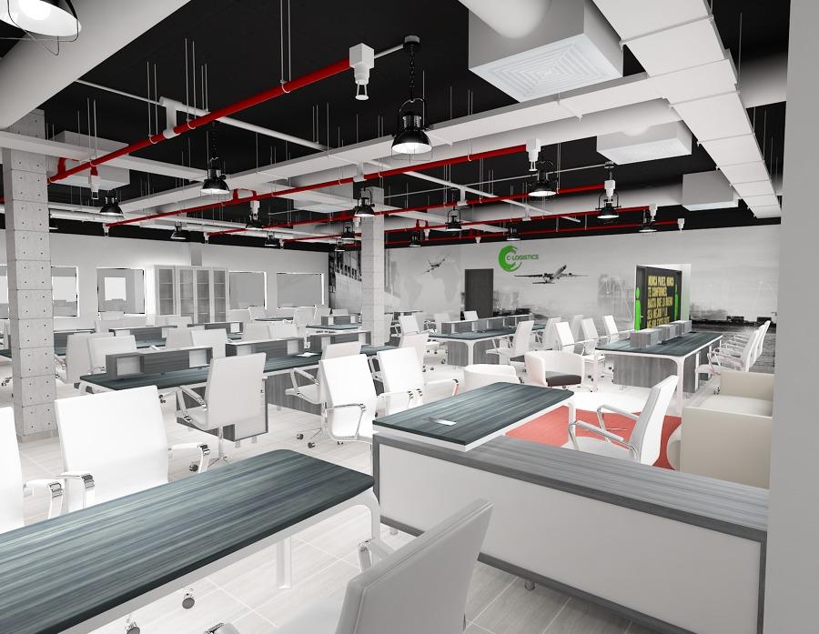 oficinas y área de trabajo