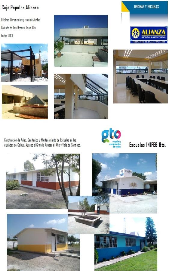 Oficinas y escuelas