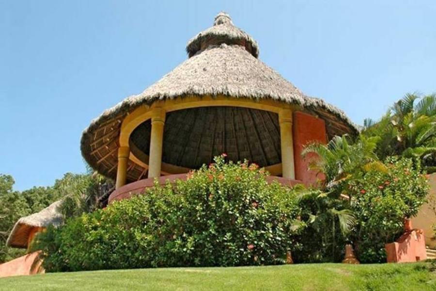 Foto palapa redonda o de dos aguas de jardineria garces for Jardineros en xochimilco