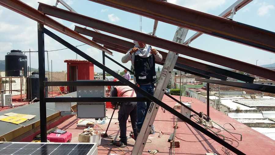 Paneles Solares en Pocitlán
