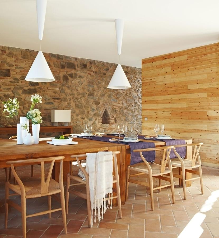 10 casas de piedra con pasi n por lo natural ideas - Piedra para pared ...