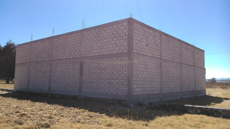 Perímetro muros de block