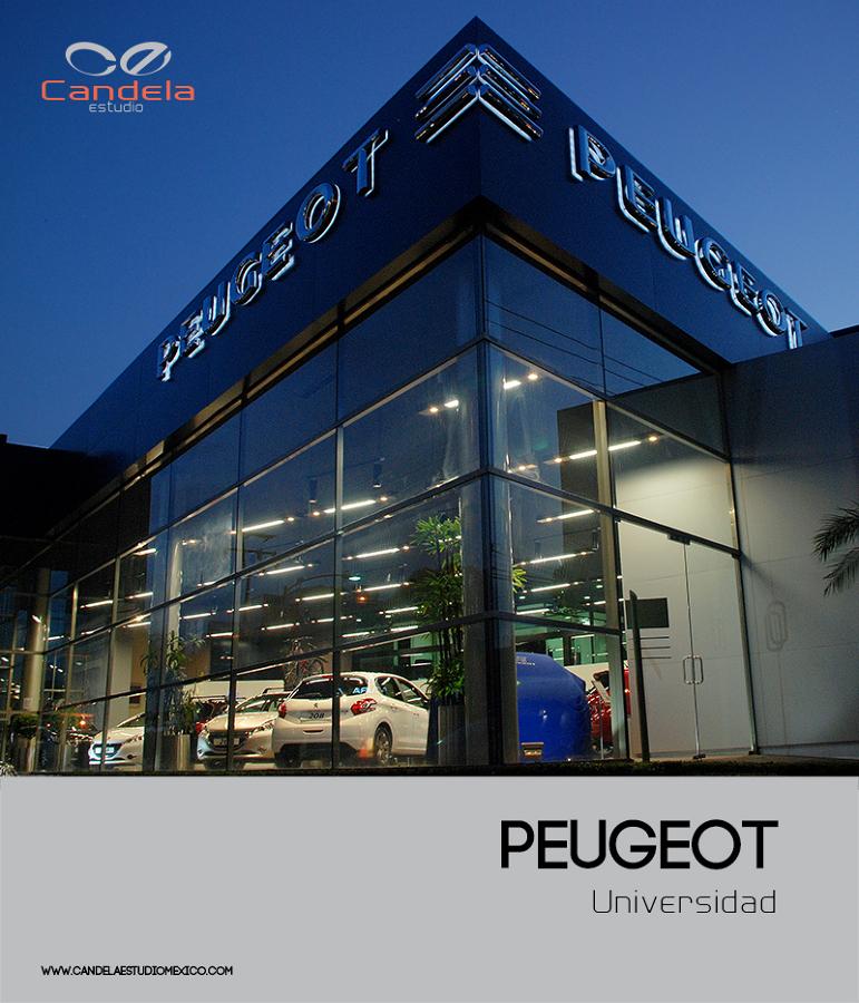 Peugeot Universidad.