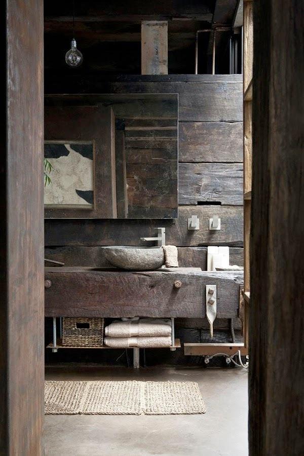 Lavabos rusticos lavabos o fregaderos redondos rsticos - Picas de piedra para bano ...