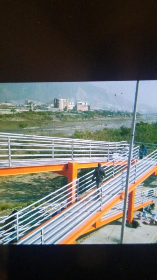 Pintura a puente Peatonal