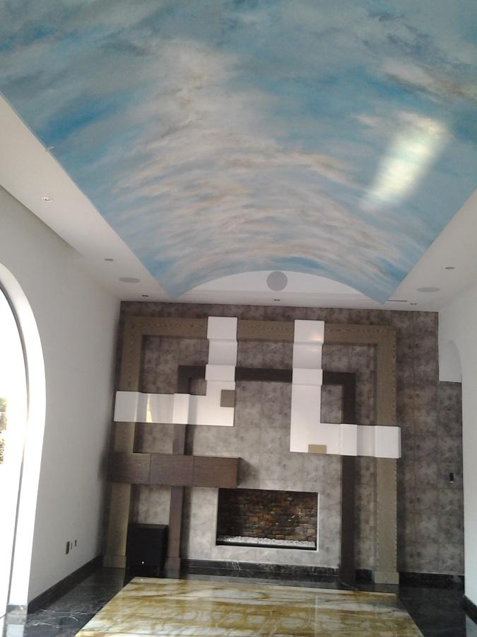 Pintura en Área de TV