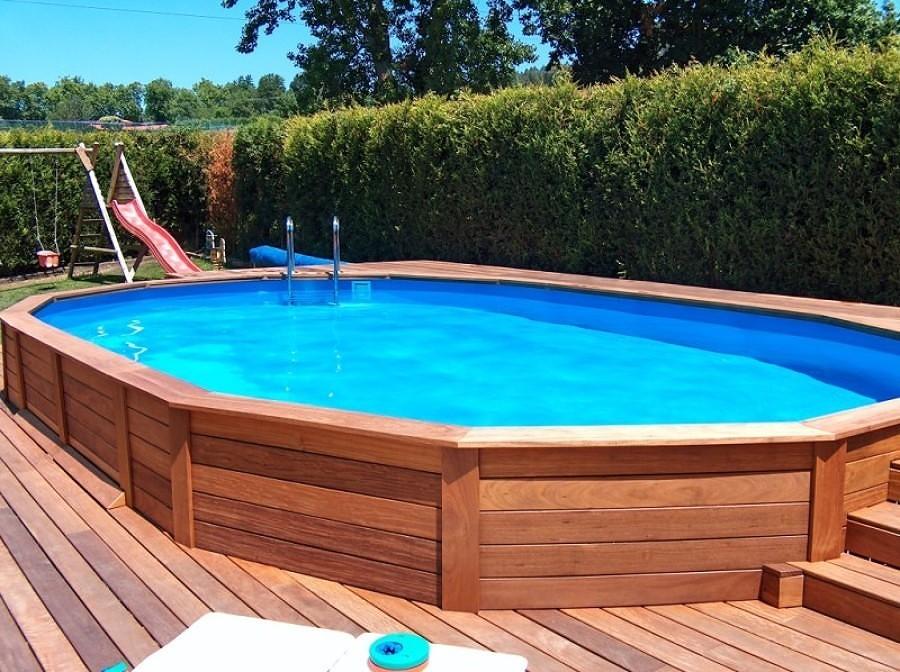 Foto alberca de madera elevada 250114 habitissimo for Costo de construir una piscina