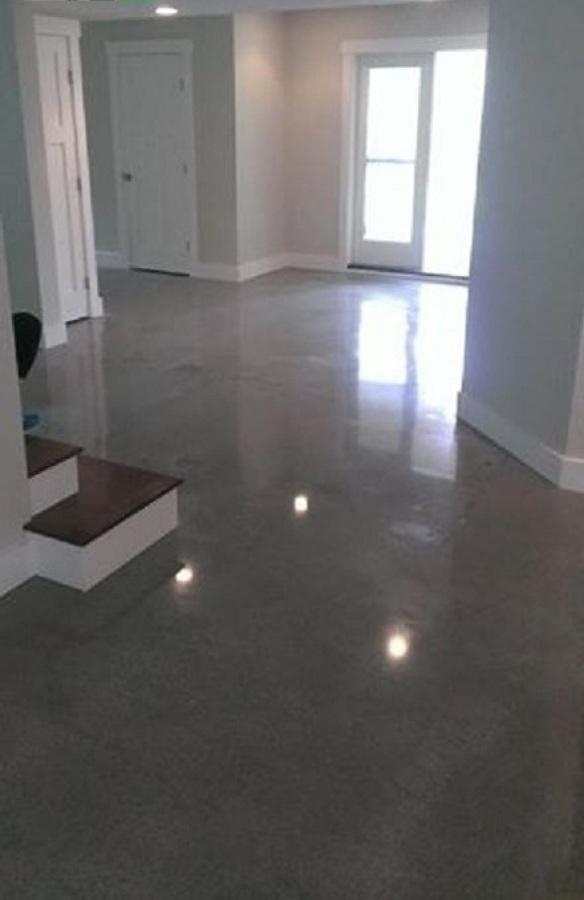 Foto piso de concreto pulido de quimera arquitectura for Piso cemento pulido