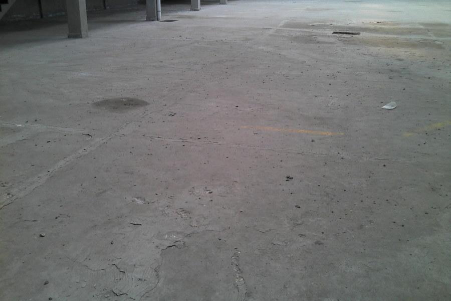 Foto pisos de concreto armado patios de maniobras y for Pisos para cocheras y patios