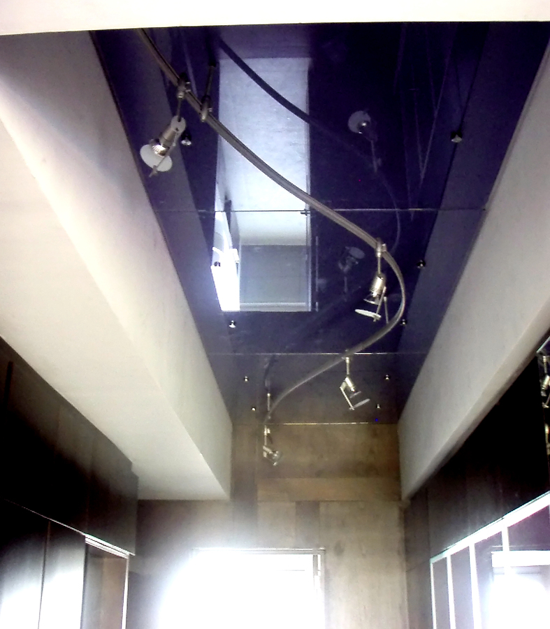 plafond de cristal en tonos a demanda