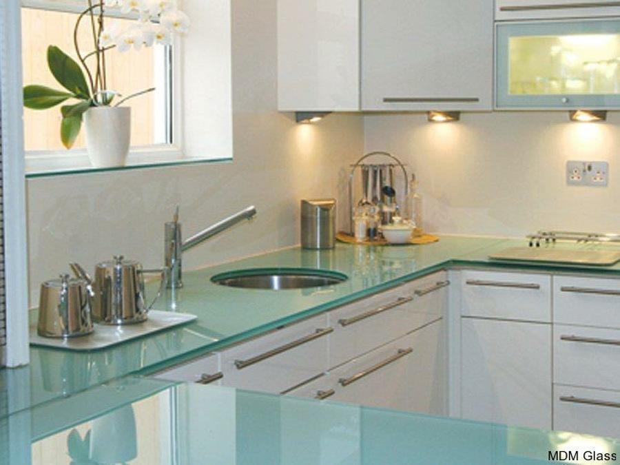 plancha de cocina de vidrio