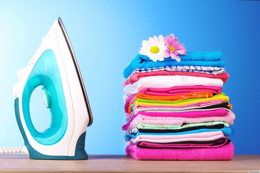 Plancha y toallas