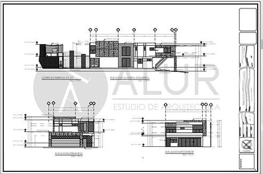 Vivienda ag ideas construcci n casa for Niveles en planos arquitectonicos