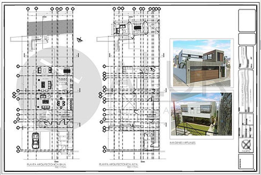 Foto Plano De Plantas Arquitect Nicas De Estudio De
