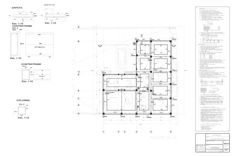 Foto plano estructural de argytecture 56669 habitissimo - Proyectos para construir una casa ...