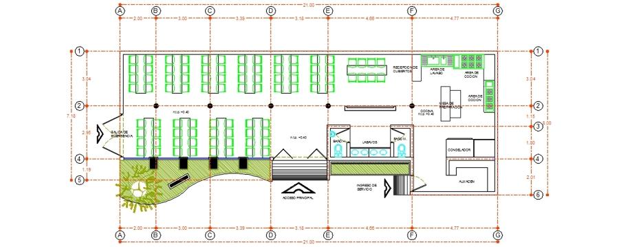 Comedor comunitario ideas arquitectos for Proyecto social comedor comunitario