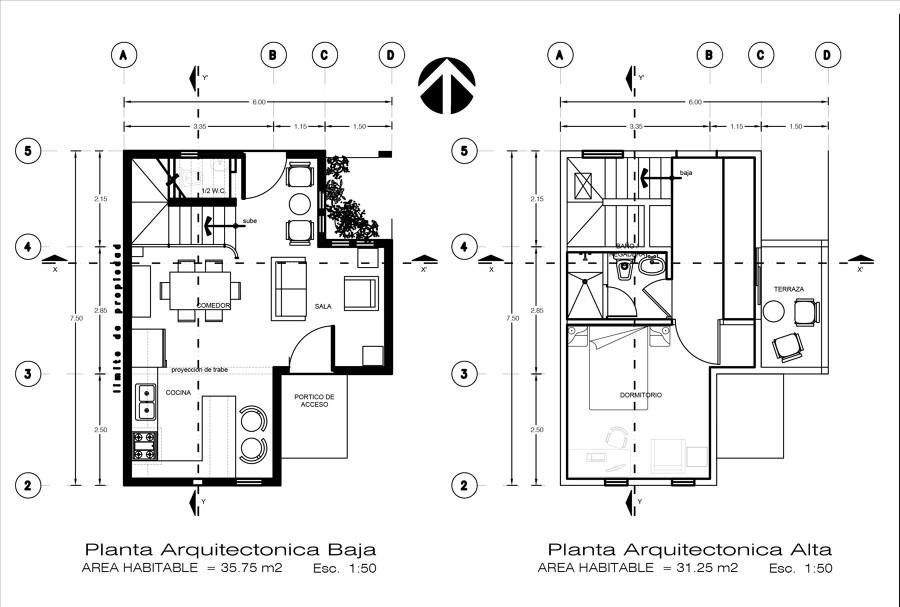 Foto plantas arquitectonicas de toledo asociados for Plantas arquitectonicas minimalistas