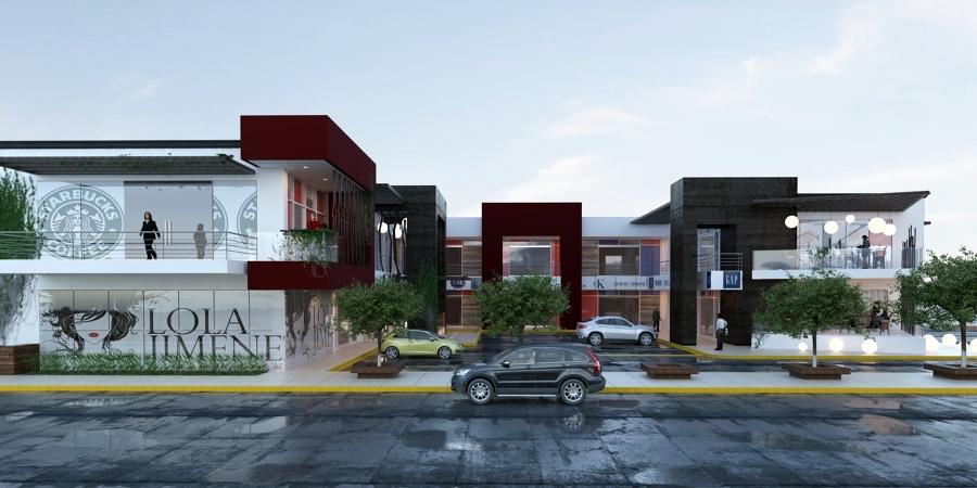 Foto plaza comercial de adu architecture 6648 habitissimo for Planos de locales comerciales modernos