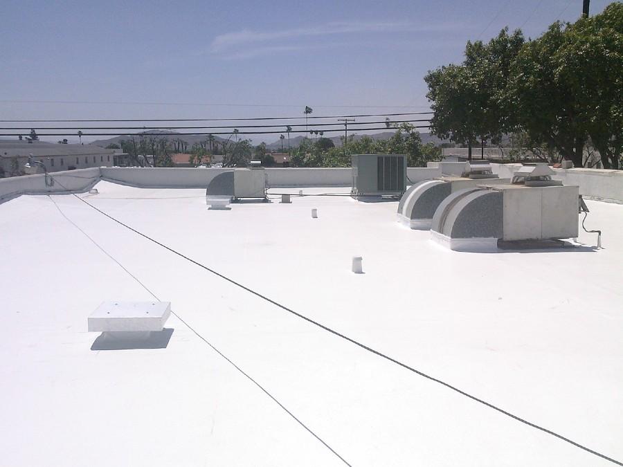 Poliuretano Blanco, control de temperatura