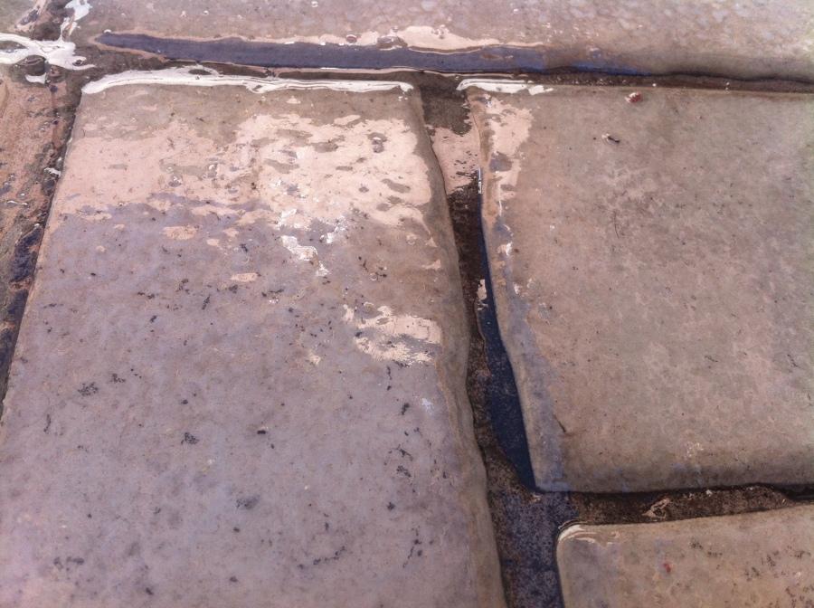 Poliuretano Transparente sobre piedras