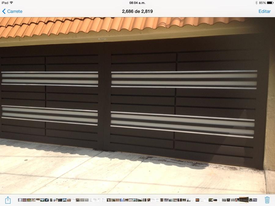 Proyecto portones sat lite naucalpan ideas canceler a for Puerta zaguan aluminio