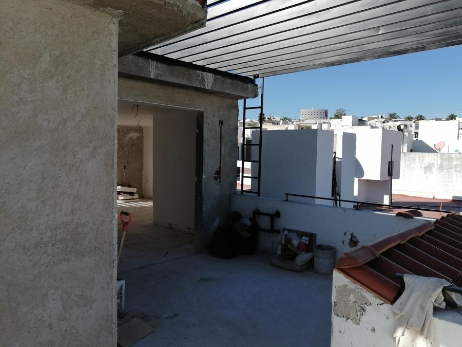 Proceso constructivo en terraza