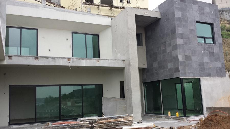proceso de acabados en fachada