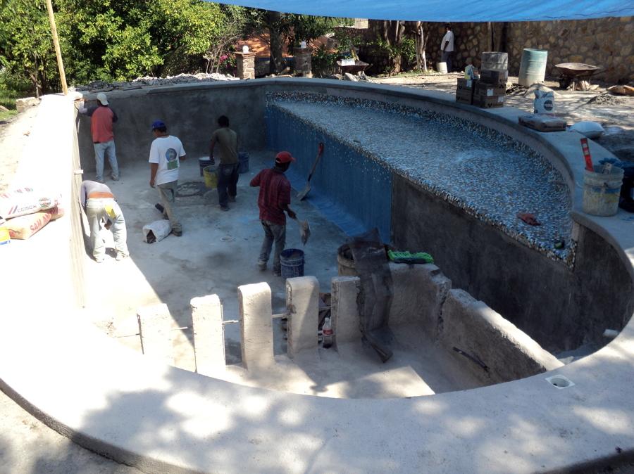 Albercas en construccion airea condicionado for Construccion de piscinas en mexico