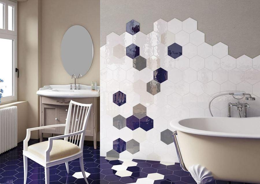Dise o y geometr a la fiebre del hex gono ideas dise o - Comporre un bagno ...