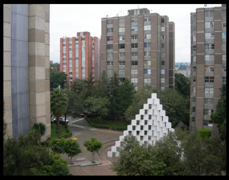 Propuesta de fachadas torres de mixcoac