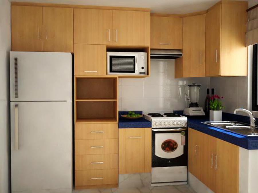 Foto propuesta gabinetes de cocina integral de casa 123 for Gabinetes cocina integral