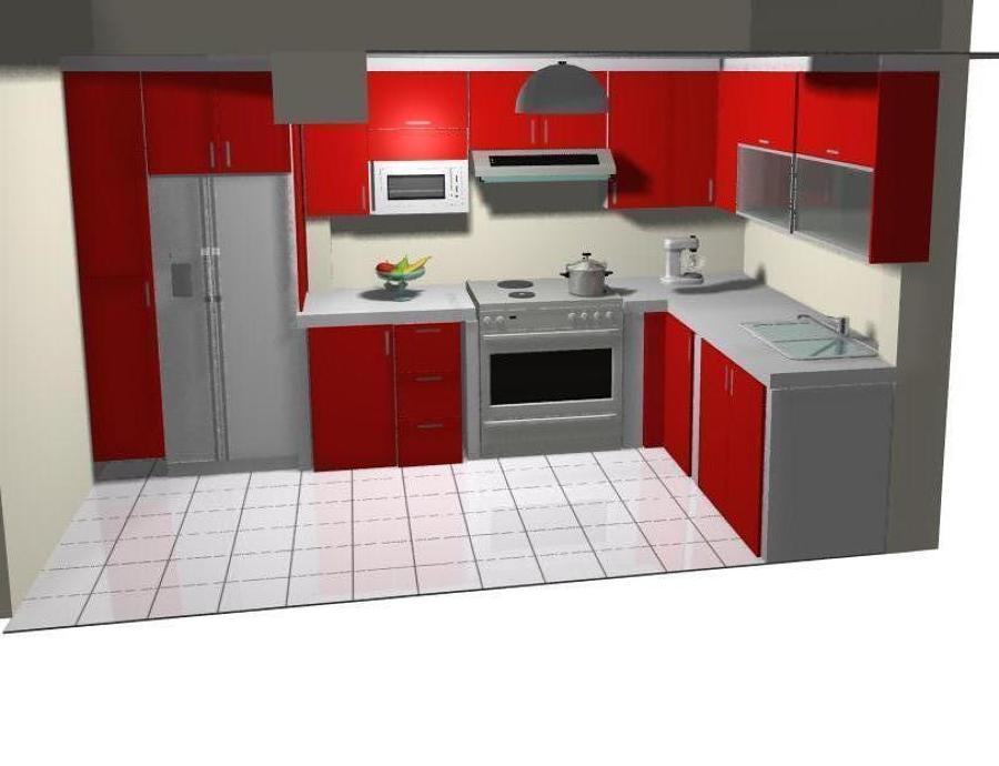 proyecto cocina roja